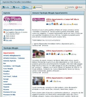 Sistemarsi Tour User profiles. Ads