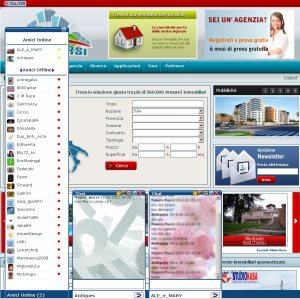 Sistemarsi social network: find many new contacts and sgare with them your experiences. Comments